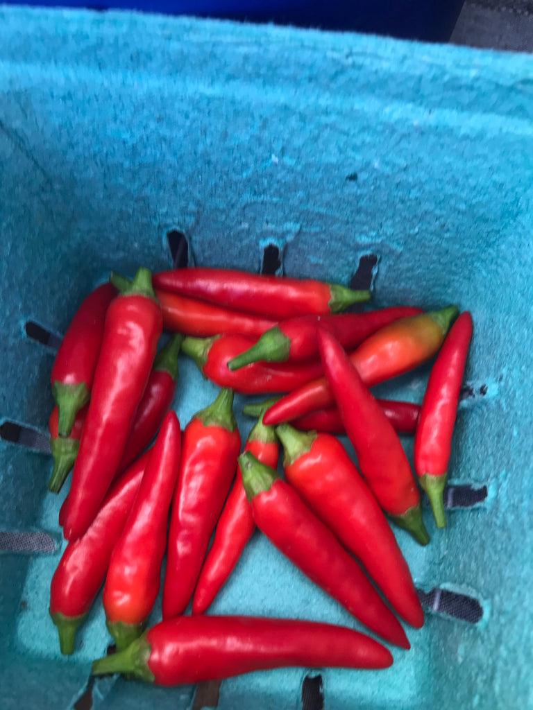 Chili Peppers - Farmer Brad LLC