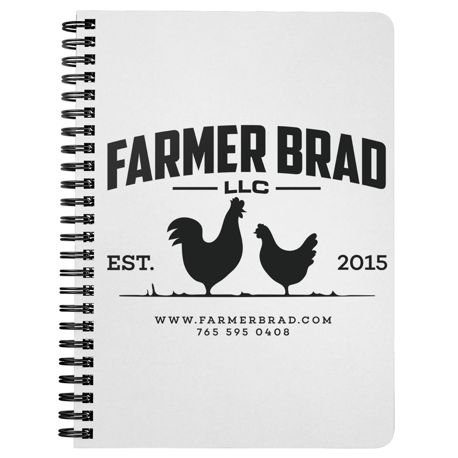 Farmer Brad Notebook - Farmer Brad LLC