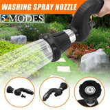 Mighty Power Hose Blaster Fireman Nozzle Lawn Garden Super Powerful Home Original Car Washing by BulbHead Wash Water Your Lawn - Farmer Brad LLC