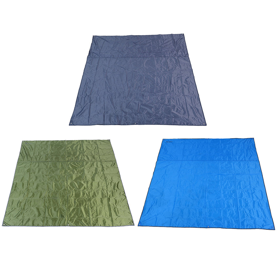 Thick Oxford Camping Mat Large Size 210D Nylon Moistureproof Groundsheet Picnic Pad Tarp Beach Sand Tent Awning With Storage Bag - Farmer Brad LLC
