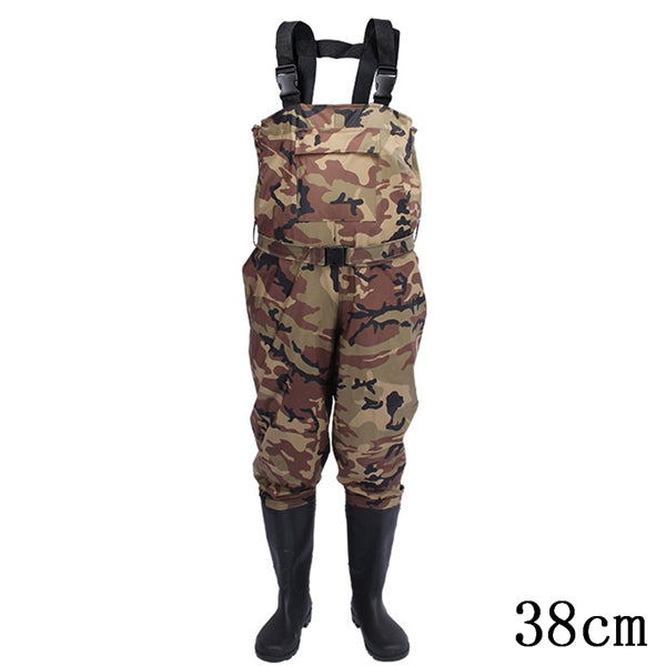 New Camouflage Thicker Waterproof Fishing Boots Pants Breathable Chest Wading Farming Overalls for Outdoor Fishing Waders sizes - Farmer Brad LLC