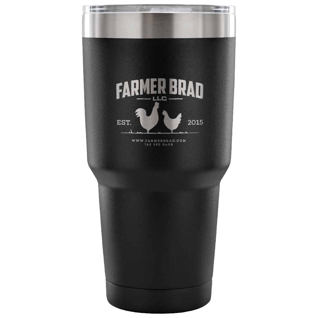 OFFICIAL FARMER BRAD (30 Ounce Vacuum Tumbler) - Farmer Brad LLC