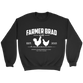 OFFICIAL FARMER BRAD (Crewneck Sweatshirt) - Farmer Brad LLC