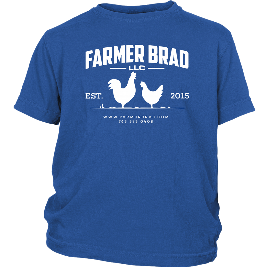 OFFICIAL FARMER BRAD (District Youth Shirt) - Farmer Brad LLC