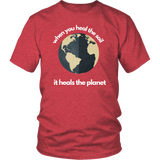 Heal the Soil Heal the Earth t-shirt designed by Farmer Brad
