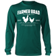 OFFICIAL FARMER BRAD (Long Sleeve Shirt) - Farmer Brad LLC
