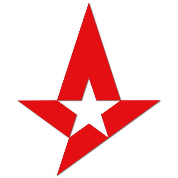 Astralis sticker - Matte (Large) - Astralis - Officially Licensed Shop