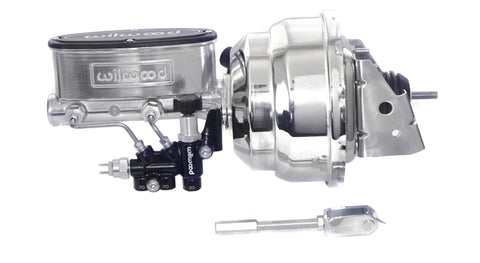 "67-81 Camaro Wilwood Master Cylinder Chrome/Polished 8"" Brake Booster"