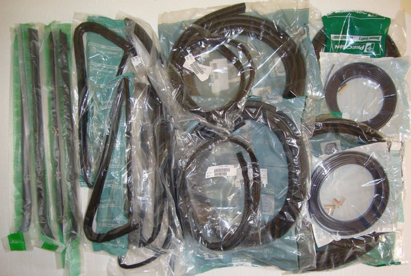 64-66 Chevy C10 Truck Complete Gasket Kit Door Glass Weatherstrip
