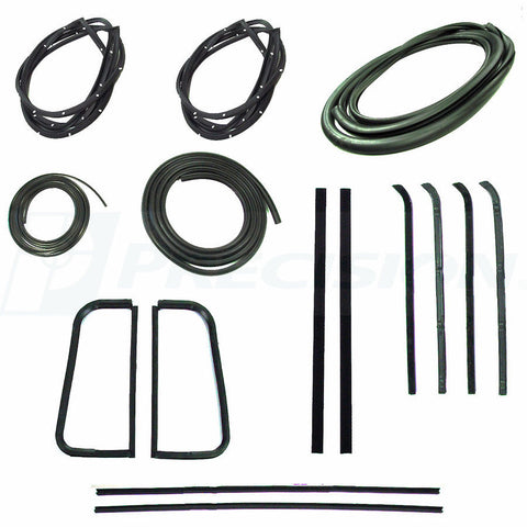 55-59 Chevy Truck Complete Window Kit