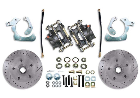 "11"" Drilled & Slotted Front Disc Brake Conversion Kit"