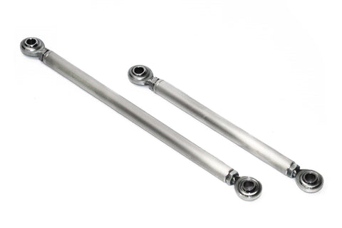 "Custom Length 3/8"" Aluminum Turnbuckle w/ Rod Ends Alternator A/C Power Steering"