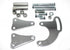 SBC Chrome Long Water Pump Power Steering Bracket