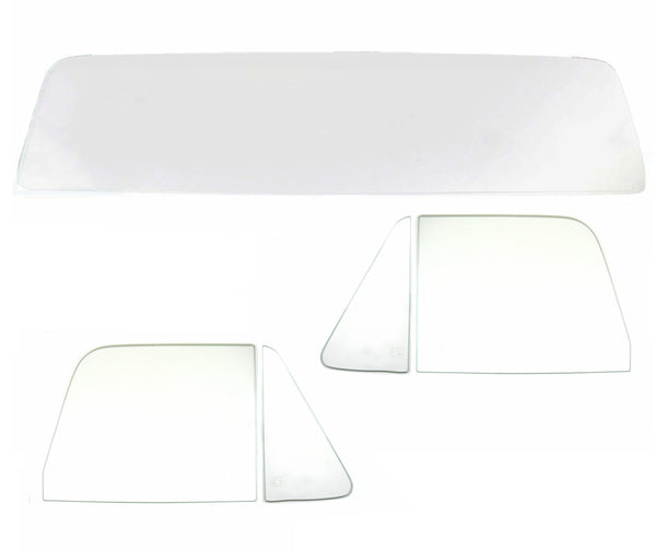 64-66 Chevy Truck 5PC Clear Tempered Glass Kit