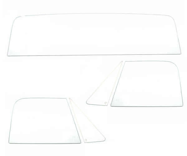 67-72 Chevy Truck 5PC Clear Tempered Glass Kit
