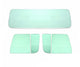 55-59 Chevy Truck Green Tinted Tempered Glass Kit