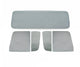 55-59 Chevy Truck 5PC Gray Tinted Tempered Glass Kit