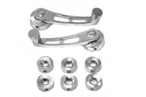 Universal Chrome Billet Aluminum Window Cranks