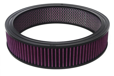"14""x 4"" Round Washable / Reusable Air Filter"