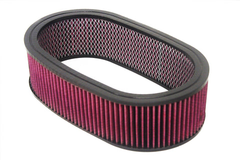 "15""x 4"" Oval Washable / Reusable Air Filter"