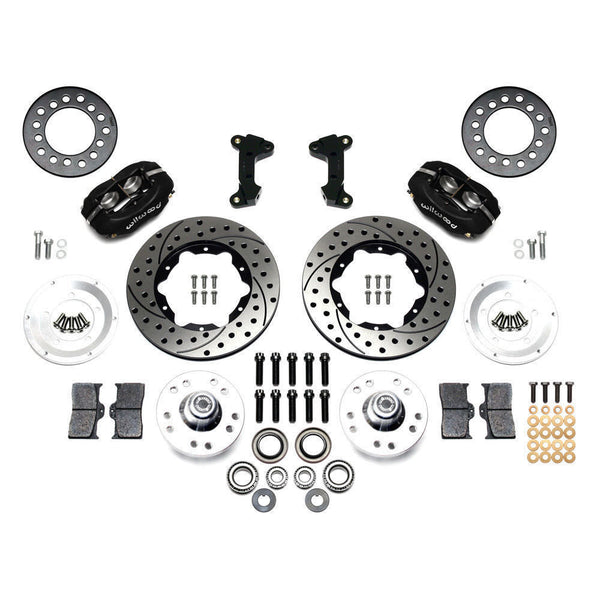 Mustang II Wilwood Dynalite Pro Disk Brake Kit Drilled & Slotted