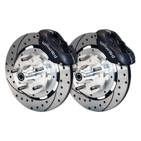 Wilwood Big Disk Brake Kit Drilled & Slotted