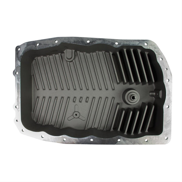 B&M Chevy Camaro Deep Finned Aluminum Transmission Pan