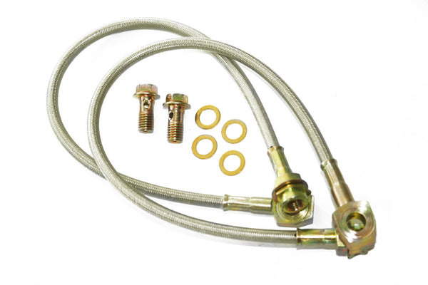 Disc Brake Braided Stainless Caliper Hose Kit 7/16
