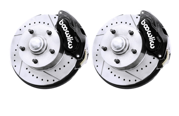 Wilwood Black Drilled Slotted Disc Brake Kit 2