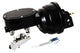 "55-57 Chevy Bel Air Master Cylinder w/ Black 7"" Power Brake Booster & Proportioning Valve"