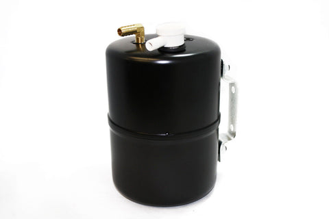 Universal Black Brake Vacuum Canister / Reservoir Power Brakes