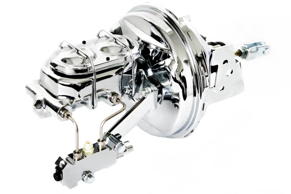A F X Body GM Front Disc Brake Kit w/ Chrome 9
