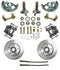 "Front 11"" Disc Brake Kit w/ 2"" Drop Spindles"