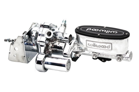 Chrome Hydroboost Brake Booster, Polished Wilwood Master Cylinder