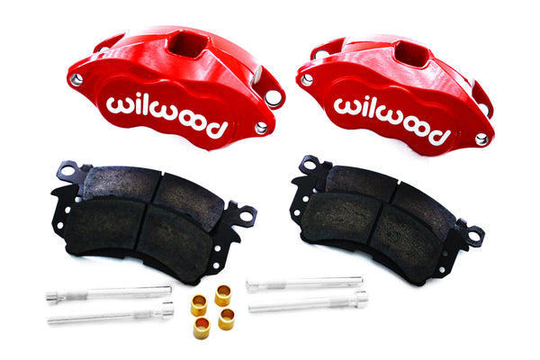 Wilwood Red Front & Rear Drilled Slotted Disc Brake Kit