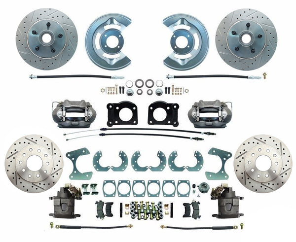 "Ford 9"" Front & Rear Disc Brake Kit"