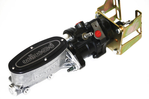 Hydroboost Brake Kit Polished Wilwood Master Cylinder A / F Body