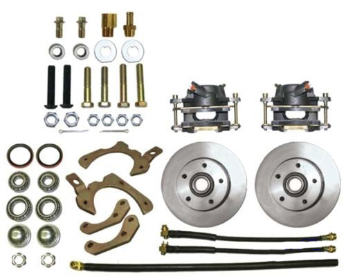 "59-64 Chevy Full Size Car MBM Front 11"" Disc Brake Conversion Kit"
