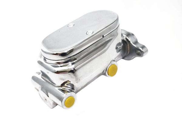 Universal Under Dash Brake Pedal Chrome Master Cylinder Booster Prop Valve Kit