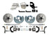 "Dodge Plymouth Mopar A-Body Front 11"" Smooth Disc Brake Kit w/ Booster"