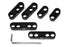 Universal Black Spark Plug Wire Loom Set / Dividers / Separators