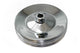 Chevy GM Chrome Power Steering Pulley Double Groove BBC SBC