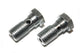 (2) 3/8 - 24 Banjo Bolt Fitting Stainless Steel
