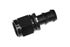 Black -10 AN Straight Push Loc Tite Hose End Fitting Lock