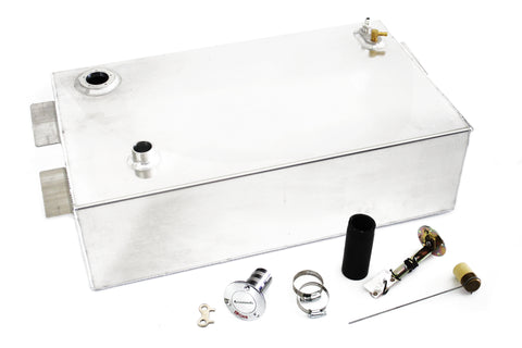 48-60 Ford Pickup Truck 17 Gallon Aluminum Fuel Gas Tank / Fuel Cell Kit