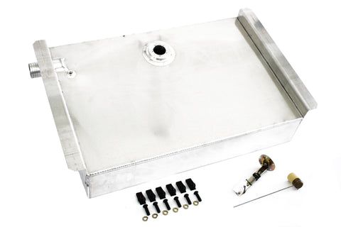 62-67 Chevy II Nova 19 Gallon Aluminum Gas Tank / Fuel Cell Kit w/ Sending Unit