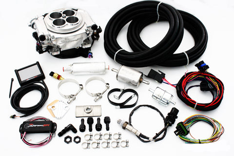Holley Sniper Polished EFI Fuel Injection System Complete Master Kit