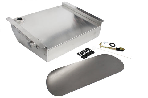 49-57 Chevy Car 19 Gallon Aluminum Fuel Gas Tank / Fuel Cell Kit w/ Sending Unit