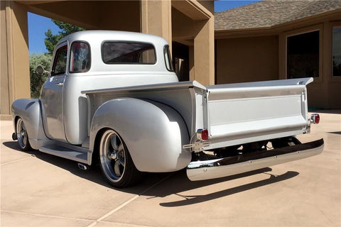 47-50 Chevy 5 Window Truck Gray Tinted Tempered Glass 5-PC Kit