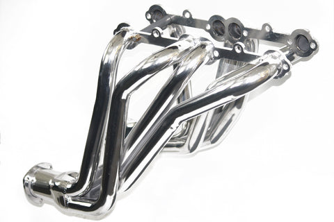 "66-87 Chevy GMC SBC Truck 1-5/8"" Long Tube Ceramic Coated Headers"